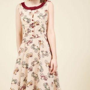 Modcloth Make Great Rides Dress